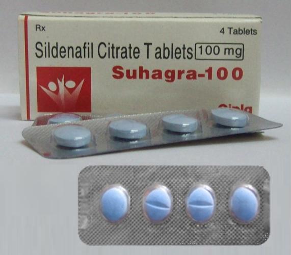 Suhagra 100 sildenafil citrate tablets